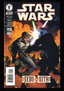 Star Wars: Jedi vs. Sith #1 VF/NM 9.0 1st Darth Bane!