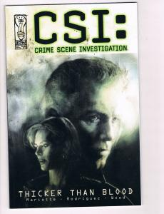 CSI: Miami Thicker Than Blood TPB IDW Comic Books Hi-Res Scans Awesome Issue! T3