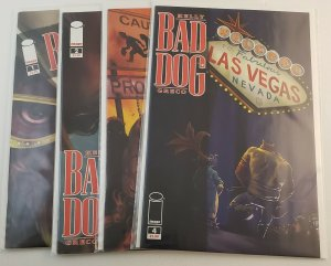 Bad Dog #1-4  High Grade NM Image Comics 2009