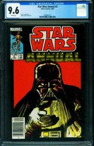 Star Wars Annual #3 CGC 9.6 Darth Vader NEWSSTAND 2038907011