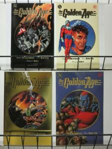 GOLDEN AGE (1993) 1-4 James Robinson - complete series!