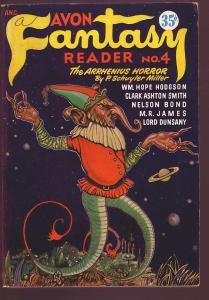 AVON FANTASY READER #4-1947-AVON- HODGSON-PLANET SATURN-fine/very fine FN/VF
