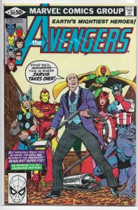 Avengers   vol. 1   #201 FN Michelinie/Perez, Jarvis, Vision, Scarlet Witch