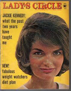 Lady's Circle 12/1965-Jackie Kennedy-Frank Sinatra-Cary Grant-Lana Turner-VG