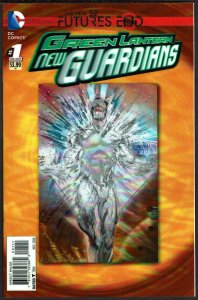 Futures End Green Lantern New Guardians 3-D Cover (2014, DC) 9.4 NM