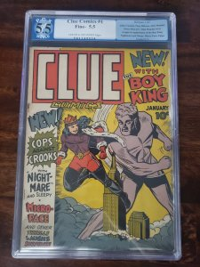 Clue Comics 1 PGX 5.5