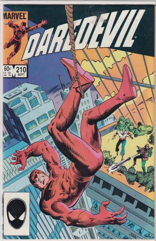 Daredevil #210 (1984)