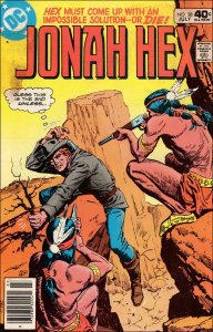 DC JONAH HEX (1977 Series) #39 VG+