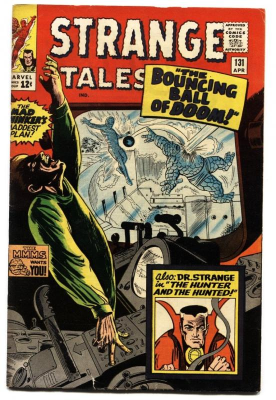 STRANGE TALES #131--JACK KIRBY-HUMAN TORCH-SILVER AGE-MARVEL FN/VF