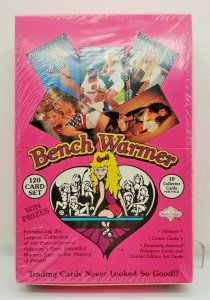 1992 BENCHWARMERS TRADING CARDS Factory Sealed Box