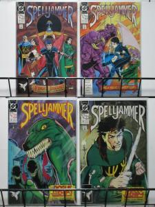 SPELLJAMMER (1990)1-4  TSR  Rogue Ship intro story ar