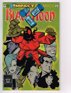 "Black Hood (1991 DC) #10 Impact Comic Book ""Slime of Your Life"" HH2"