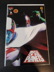 BATTLE OF THE PLANETS #1 DYNAMIC FORCES EXCLUSIVE ALTERNATE COVER COA #1328