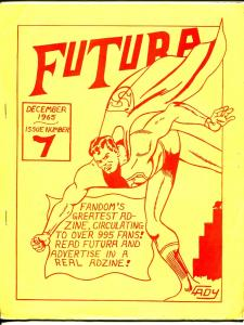 Futura 12/1965-1st issue of title change-Cady Superman cover-Rogofsky-FN-