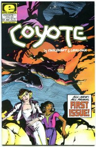 COYOTE #1, VF/NM, Englehart, Epic, 1983, more Marvel in store