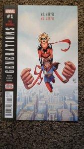 Generations: Ms. Marvel & Ms. Marvel #1 (2017) NM