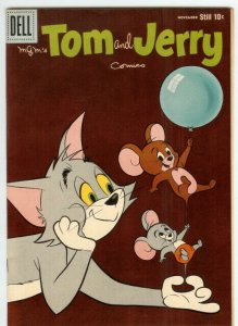 TOM & JERRY 196 VF-NM  November 1960 COMICS BOOK