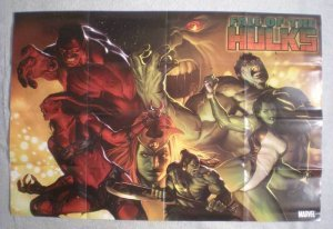 FALL OF THE HULKS Promo Poster, 24x36, 2009, Unused, more in our sto