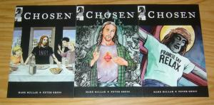 Chosen #1-3 VF/NM complete series MARK MILLAR american jesus set lot comics 2