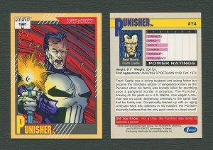 1991 Marvel Comics II  Card  #14 ( Punisher)  MINT