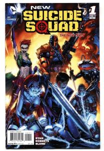 NEW SUICIDE SQUAD #1-2014-HARLEY QUINN-NEW 52-NM--HIGH GRADE