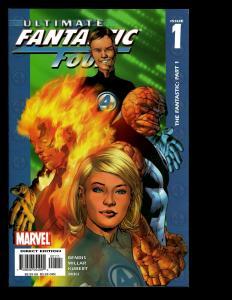 Lot Of 12 Ultimate Fantastic Four Marvel Comics # 1 2 3 4 5 6 7 8 9 10 11 12 SM7