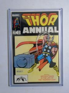 Thor (1st Series) Annual #11, Direct Edition 8.5/VF+ (1983)