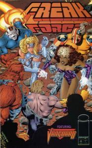 Freak Force #4 VF/NM; Image | save on shipping - details inside