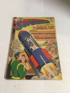 Superman 146 Gd Good 2.0 Cover Detached  DC Comics Silver Age