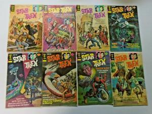 Star Trek lot 14 different books 4.0 VG (1972)