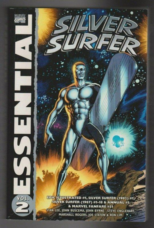 ESSENTIAL SILVER SURFER VOL.2 2007 MARVEL COMICS 1ST PRINT