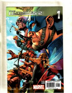12 The Ultimates 2 Marvel Comic Books #1 2 3 4 5 6 7 8 9 10 11 Annual 1 HY3