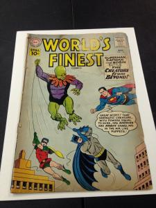 World's Finest 116 GD SIlver Age DC