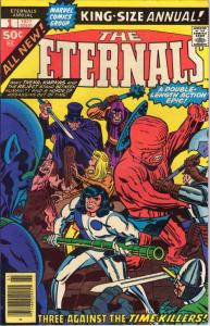 ETERNALS #1 Annual VF/NM Jack Kirby Marvel King Size 1976 1977 more JK in store