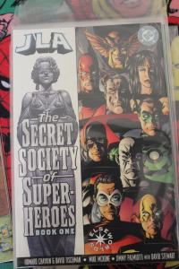 JLA: SECRET SOCIETY OF SUPER-HEROES 1 NM/MT or Better