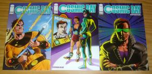 Cosmic Ray #1-2 VF/NM complete series + variant STEPHEN BLUE image comics set