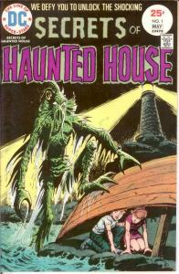SECRETS OF HAUNTED HOUSE 1 FN May 1975 COMICS BOOK