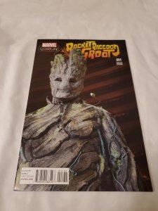 Rocket Raccoon and Groot Near Mint- Written by Skottie Young