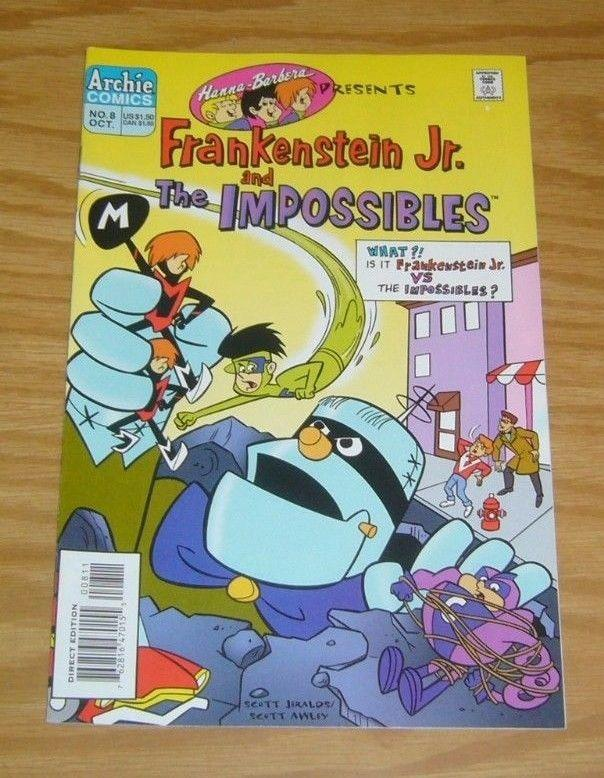 Hanna-Barbera Presents #8 VF/NM frankenstein jr - fantastic four #1 cover swipe