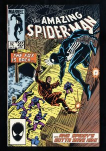 Amazing Spider-Man #265 NM- 9.2 1st Silver Sable!