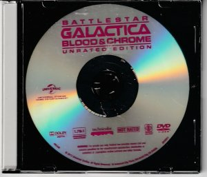 Battlestar Galatica – Blood and Chrome Unrated Edition(DVD only)