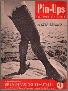 Pin-ups #1  1950-1st issue-Bernard of Hollywood-Marilyn Monroe-fishnet-FN/VF