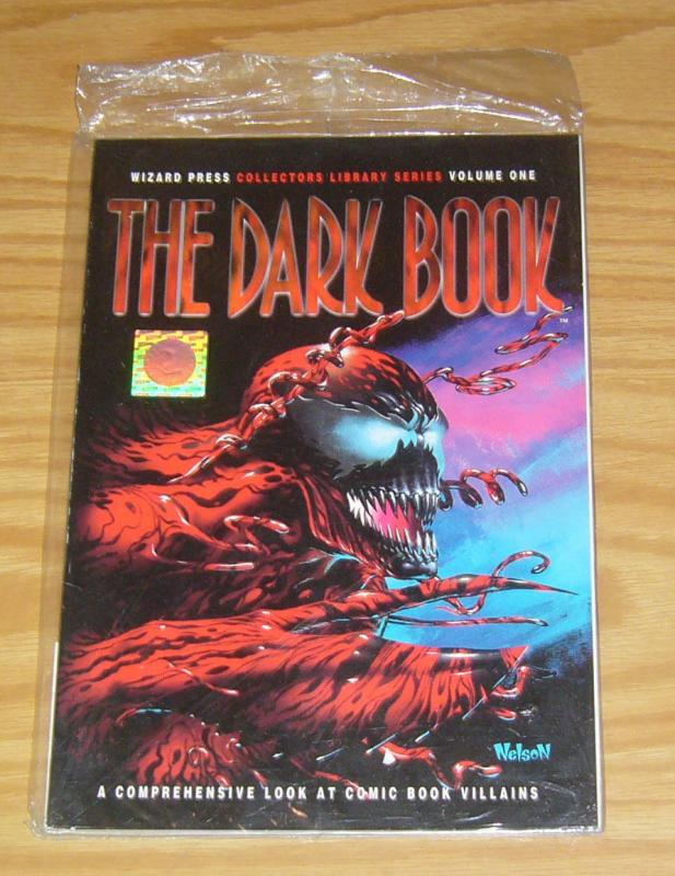 the Dark Book SC VF/NM polybagged with bookmark - cool carnage cover by nelson
