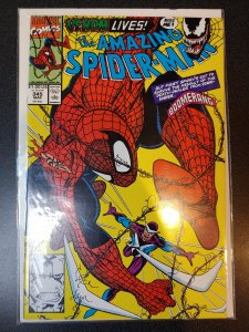 AMAZING SPIDER-MAN#345 Cletus Kasady (CARNAGE)