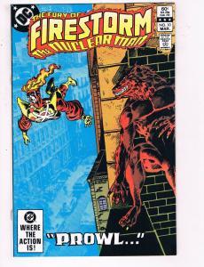 Firestorm The Nuclear Man #10 VF DC Comics Flash TV Prowl Comic Book 1983 DE21