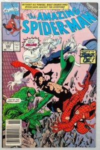 The Amazing Spider-Man #342 NEWSSTAND (FN/VF)(1990)