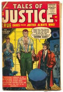 Tales of Justice #54 1955- missing ad pages