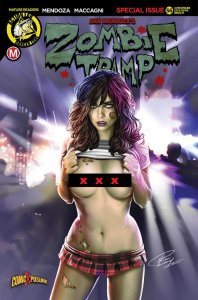 ZOMBIE TRAMP ONGOING #56 RON LEARY RISQUE COMICXPOSURE EXCLUSIVE