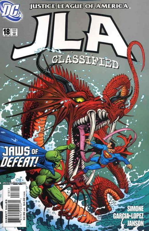 JLA: Classified #18 FN; DC | save on shipping - details inside