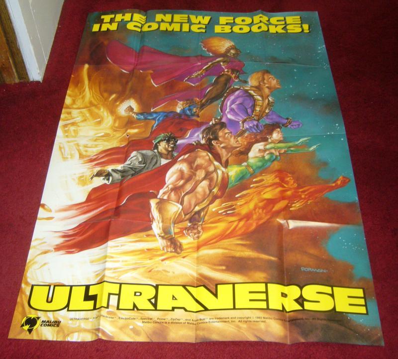 Ultraverse poster - 36 x 24 - dave dorman - prime - hardcase - strangers